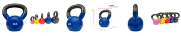Sunny Health & Fitness Sunny Health and Fitness Vinyl Coated Kettle Bell