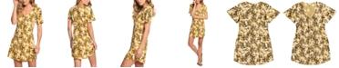 Roxy Juniors' Damage Love Floral-Print Fit & Flare Dress