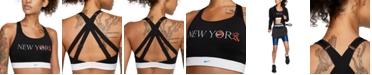 Nike Women's Dri-FIT NYC Marathon Strappy High-Impact Sports Bra