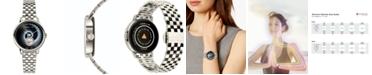 Teslar Women's Swiss Fibonacci Stainless Steel Bracelet Watch 36mm