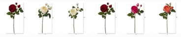 Nearly Natural 22in. Rose Artificial Flower Set of 6