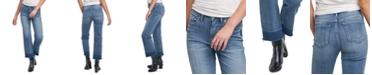 Silver Jeans Co. Lanark Crop Wide-Leg Jeans