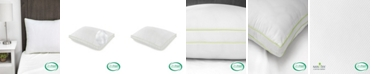 SensorPEDIC Ultra-Fresh Luxury Gusseted Antimicrobial Pillows Set of 2 with Nanotex Coolest Comfort Technology - Standard