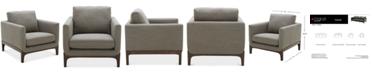 "Furniture Yazlan 35"" Fabric Chair"