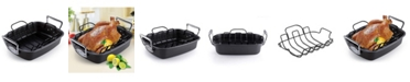 Cook N Home Nonstick Bakeware Roaster with Rack