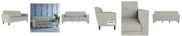 Handy Living Philbin Square Arm Sofa