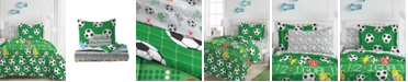 Dream Factory Soccer Field Comforter Bed in a Bag, Full