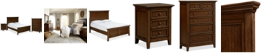 Furniture Matteo Bedroom Furniture, 3-Pc. Bedroom Set (Full Bed, Drawer Chest & Nightstand)