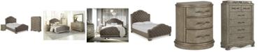 Furniture Zarina Bedroom Furniture, 3-Pc. Set (California King Bed, Chest & Nightstand)