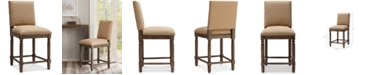 Madison Park Cooper Counter Stool, Quick Ship