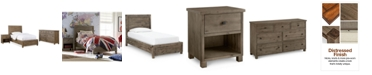 Furniture Canyon Platform Bedroom Furniture, 3-Pc. Bedroom Set (Twin Bed, Dresser and Nightstand)