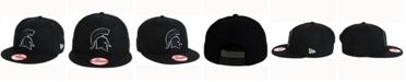 New Era Michigan State Spartans Black White Fashion 9FIFTY Snapback Cap