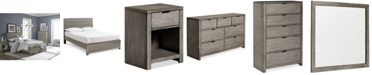 Furniture Tribeca Grey Bedroom Furniture Collection, Created for Macy's