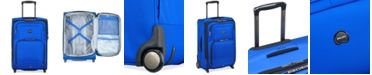 """Delsey Opti-Max 21"""" 2-Wheel Expandable Wheeled Carry-On Suitcase, Created for Macy's"""