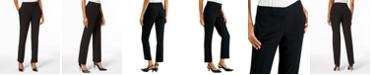 Kasper Slim Straight-Leg Modern Trousers