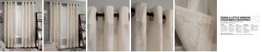 "Miller Curtains Clip 50"" x 63"" Geometric Window Panel"