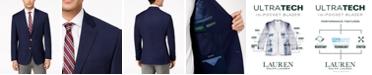 Lauren Ralph Lauren Men's Classic-Fit Ultra Tech Solid 10-Pocket Blazer