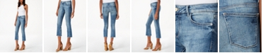 DL 1961 Lara Cropped Flared Jeans