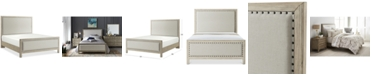 Furniture Parker Upholstered Queen Bed, Created for Macy's