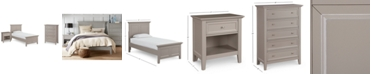 Furniture Sanibel Bedroom Furniture, 3-Pc. Set (Twin Bed, Nightstand, and Chest), Created for Macy's