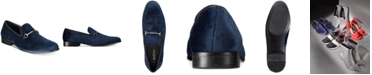 INC International Concepts INC Men's Harrow Velvet Smoking Slippers, Created for Macy's