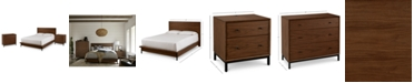 Furniture Oslo Bedroom Furniture, 3-Pc. Set (Full Bed, Nightstand & 3 Drawer Chest), Created for Macy's