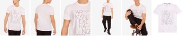 A X Armani Exchange Men's Glossy Box Logo T-Shirt