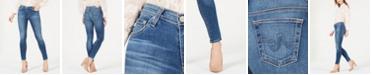 AG Jeans AG Legging Ankle Ripped Denim - Super Skinny Ankle