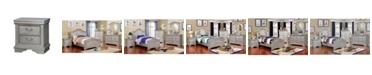 Furniture of America Jalla 2-Drawer Night Stand