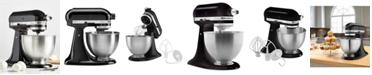 KitchenAid K45SSOB Classic Series 4.5-Qt. Tilt-Head Stand Mixer