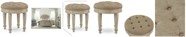 Furniture Chelsea Court Vanity Stool, Created for Macy's