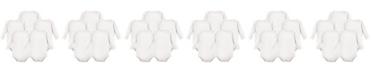 Luvable Friends Long-Sleeve Bodysuits, 5-Pack, 0-24 Months