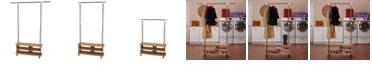 Household Essentials Shoe Cubby Garment Rack
