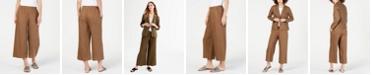 Eileen Fisher Organic Cotton Cropped Pants, Regular & Petite