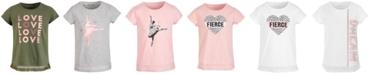 Ideology Toddler Girls Mesh-Hem T-Shirt, Created for Macy's
