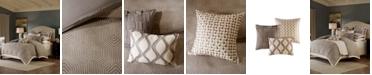 JLA Home Madison Park Signature Shades Queen 8 Piece Comforter Set