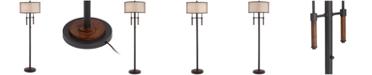 Pacific Coast Modern Lodge Floor Lamp with 2 Lights