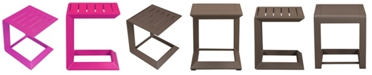 Pangea Home Leaf Side Table