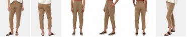 O'Neill Juniors' Briggs Cotton Dolphin-Hem Pants