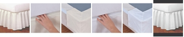 Fresh Ideas Magic Skirt Ruffled Full Bed Skirt