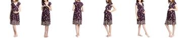 kimi + kai Kimi & Kai Shae Maternity Nursing Night Gown