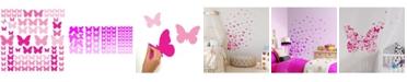 York Wallcoverings Flutter Butterflies Peel and Stick Wall Decals