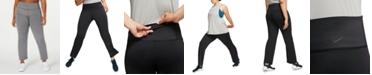 Nike Plus Size High-Rise Gym Pants