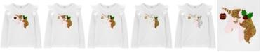 Carter's Big & Little Girls Flip-Sequin Unicorn T-Shirt