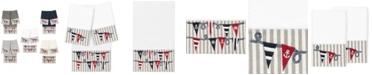 Linum Home 100% Turkish Cotton Ethan 3-Pc. Embellished Bath and Hand Towel Set