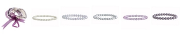 Macy's Set of 5 Imitation Stones Stretchy Bracelets
