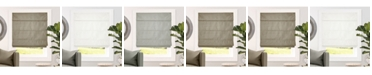 "Chicology Cordless Roman Shades, Blackout Lining Cascade Window Blind, 23"" W x 64"" H"