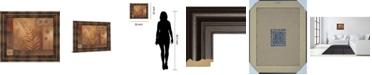 """Classy Art Modern Fern II by Vivian Flasch Framed Print Wall Art, 22"""" x 26"""""""