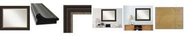 "Amanti Art Impact Framed Bathroom Vanity Wall Mirror, 34.25"" x 28.25"""