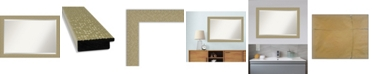 "Amanti Art Mosaic Gold-tone Framed Bathroom Vanity Wall Mirror, 40.25"" x 28.25"""